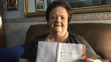 España | La agenda telefónica con dibujos que creó un joven para su abuela que no sabe leer