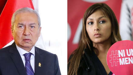 Pedro Chavarry dijo que fiscal Miranda se apartó del caso de Arlette Contreras