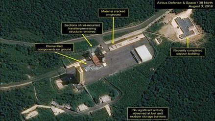 Unas fotos por satélite muestran que Pyongyang sigue desmantelando su base de misiles