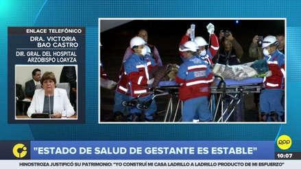 Gestante intoxicada en Ayacucho está fuera de peligro, informó el Hospital Loayza