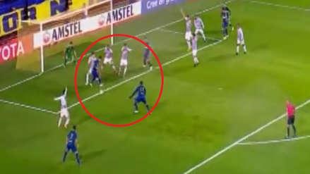 El polémico gol que anotó Boca Juniors para abrir el marcador