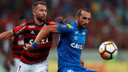 Flamengo sin los peruanos perdió 2-0 con Cruzeiro por la Libertadores