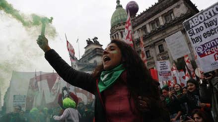 Argentina: Miles de manifestantes en vilo por votación de ley que legaliza el aborto