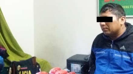 Policía Nacional decomisó 10 kilos de cocaína en Cajamarca