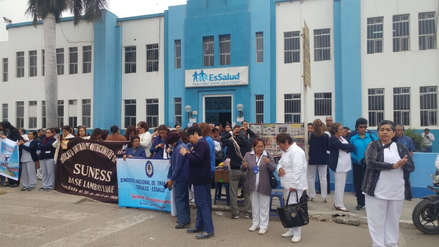 Tres mil citas postergadas en Lambayeque por huelga de trabajadores de EsSalud