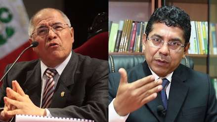 San Martín y Hurtado Reyes serán sometidos al Comité de Ética Judicial por polémicos audios