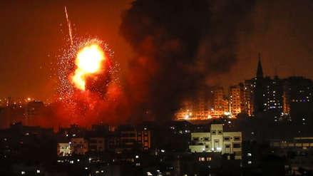 Tres muertos en Gaza por bombardeo israelí tras disparos de cohetes desde la Franja