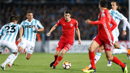 River Plate con 10 hombres empató 0-0 con Racing por Copa Libertadores