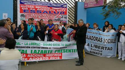 Más de mil citas suspendidas en hospital de EsSalud de Trujillo por huelga