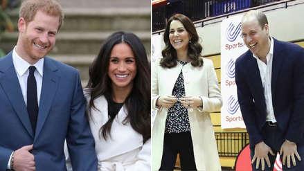 Estos son los curiosos apodos de Meghan Markle, Kate Middleton y sus esposos William y Harry