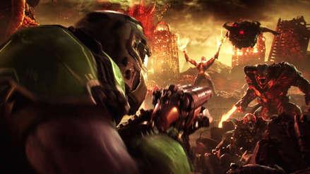 Revelan primer gameplay de Doom Eternal