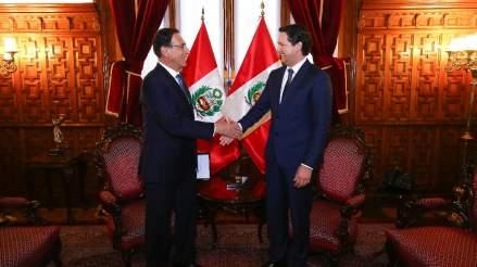 Columna | El diálogo lleva a Martín Vizcarra y Daniel Salaverry a superar su primer 'impasse'