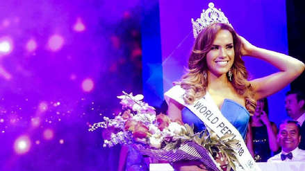 Miss Perú Mundo: Dueño de la franquicia asegura que el título de Estefani Mauricci está en trámite