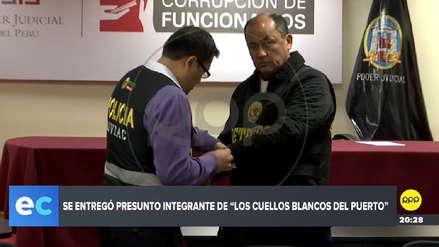 Se entregó a la justicia uno de los integrantes de 'Los Cuellos Blancos del Puerto'