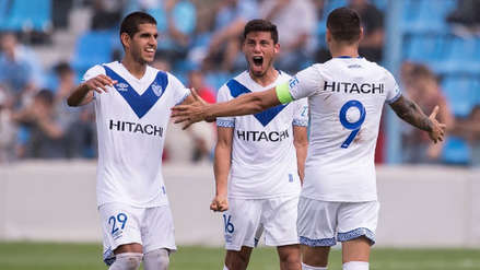 Luis Abram marcó su primer gol con Vélez Sarsfield