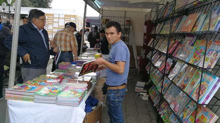 Feria Internacional del Libro de Trujillo abre sus puertas