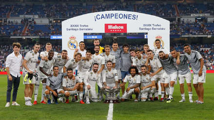 Real Madrid venció al Milan y se llevó el Trofeo Santiago Bernabéu