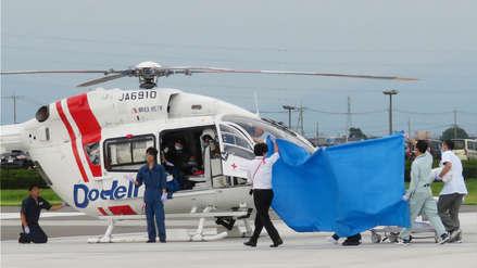 Murieron los nueve ocupantes de un helicóptero accidentado en Japón