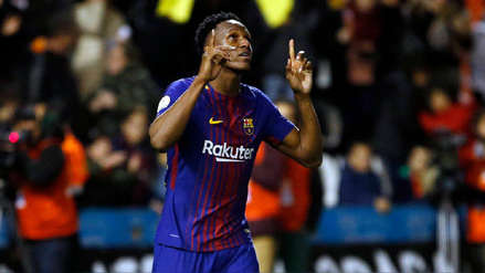 Yerry Mina tras dejar el Barcelona: