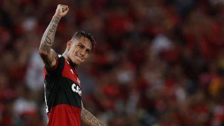 Paolo Guerrero se despidió del Flamengo: