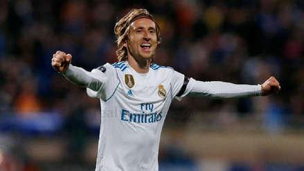 Luka Modric y el emotivo gesto que recibió de los hinchas del Real Madrid