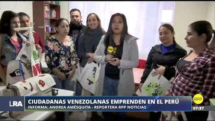Ciudadanas venezolanas emprendieron negocio con el apoyo de diseñadora peruana