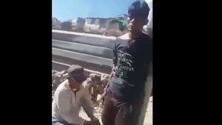 Video | Pobladores trataron de linchar a ladrón en Arequipa