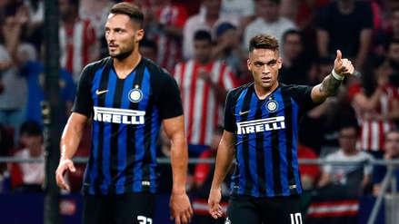 Inter de Milán venció 1-0 al Atlético de Madrid en el cierre de la International Champions Cup