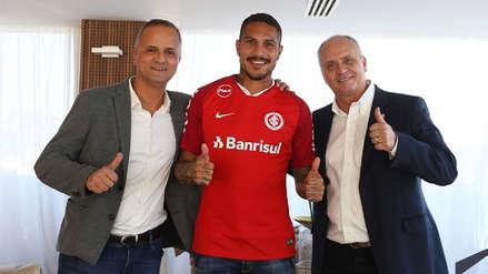 Inter de Porto Alegre oficializó el fichaje de Paolo Guerrero