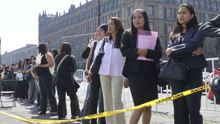Más del 50 % de jóvenes en México trabajan en empleos informales y con bajos salarios