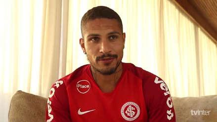 Las primeras palabras de Paolo Guerrero como jugador del Inter de Porto Alegre