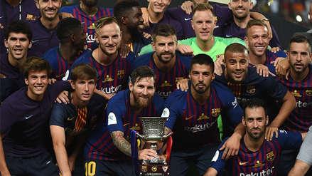 Ocho datos que dejó el triunfo de Barcelona en la Supercopa de España
