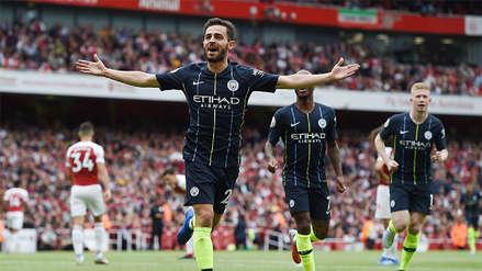 Manchester City venció de visita a Arsenal en su debut por la Premier League
