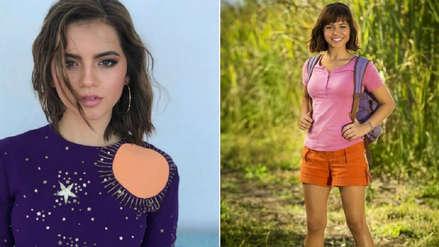 Isabela Moner reveló primera imagen como Dora, la exploradora
