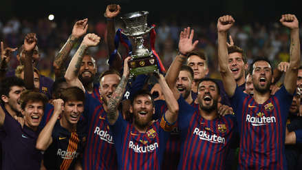 Barcelona venció a Sevilla y se proclamó campeón de la Supercopa de España