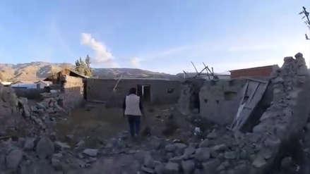 A dos años del terremoto en Caylloma solo 100 casas de más de mil fueron reconstruidas