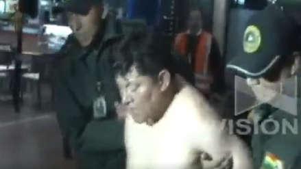 Diputado boliviano se desnudó luego de no le dejaron abordar un avión