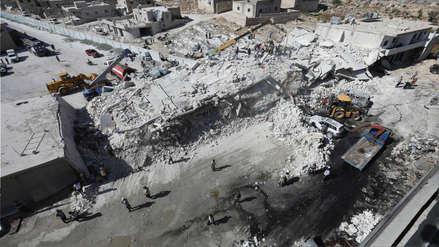 Al menos 39 personas murieron tras la explosión de un depósito de armas en Siria