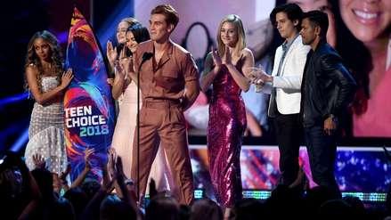 Los ganadores de Teen Choice Awards 2018: Louis Tomlinson, la banda CNCO, la serie
