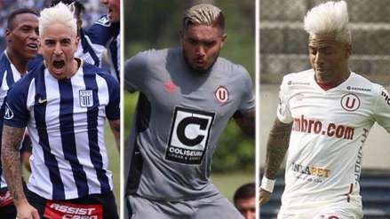Los jugadores que se pintaron de rubio en el fútbol peruano