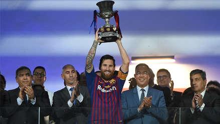 Lionel Messi y los cinco jugadores con más títulos en el Barcelona