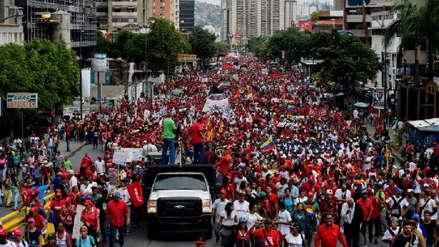 Venezuela | Chavistas marcharon en rechazo a