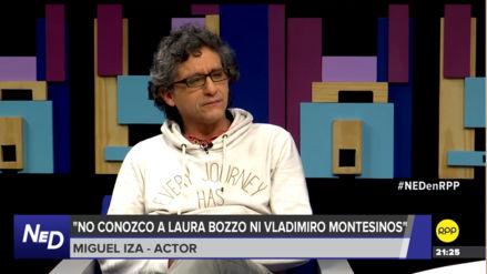 """Miguel Iza en """"Nada está dicho"""": """"No me sorprende la memoria frágil de los peruanos"""""""