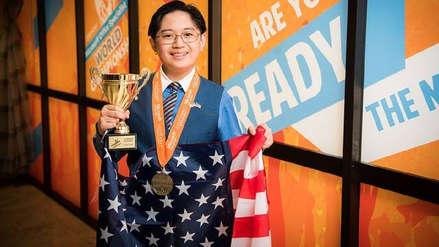 El adolescente de 15 años que se coronó campeón mundial de Excel