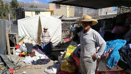 Video   Dos años después del terremoto, así viven los pobladores de Caylloma
