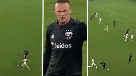 ¡Héroe! La increíble jugada de Rooney que le dio el triunfo a su equipo