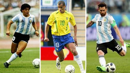 Puras estrellas: el once ideal de los mejores futbolistas zurdos