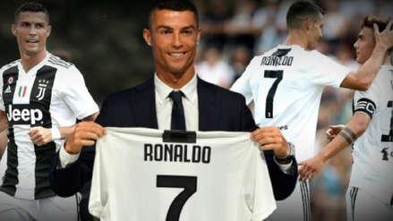 Cristiano Ronaldo y los chimpunes que quiere en honor a la Juventus