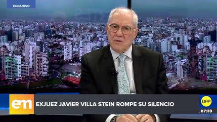 """Villa Stein dijo que sostuvo reunión con Hinostroza para la solicitud de una """"revisión de sentencia"""""""