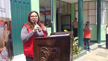 Ministra de la Mujer pide a la Policía atender con eficacia las medidas de protección